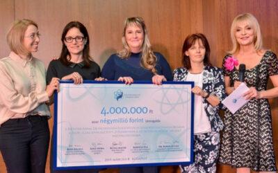 Kórházunk csapata nyerte a Richter Anna díjat!