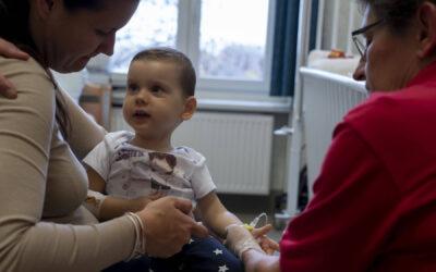 Levente is megkapta az innovatív génterápiás SMA gyógyszert a Bethesda Gyermekkórházban