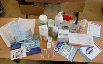 Rendkívüli higiéniai felajánlás csomagunkkal sikeresen segítettünk több száz iskolában