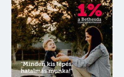 Támogassa kórházunkat adója 1%-val!