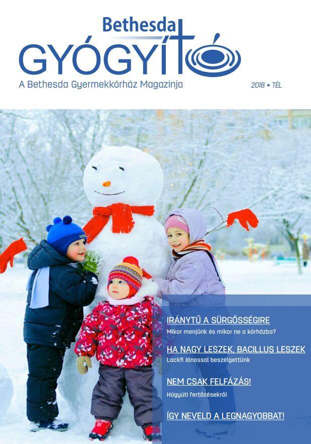 Gyógyító Magazin - 2018. tél