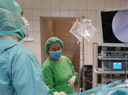 Térdműtét