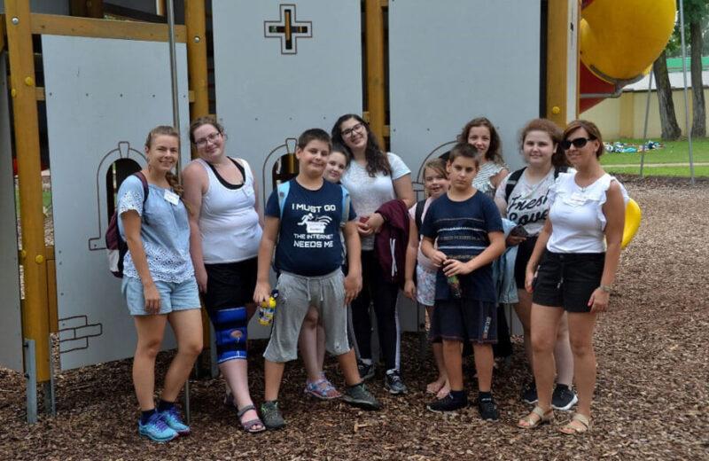 Bethesda Életmód Tábor 2021 csoportkép